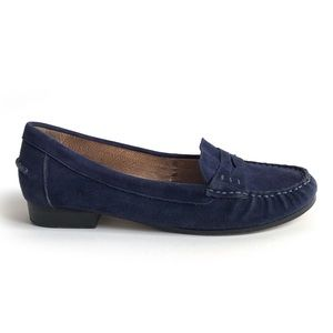 Modern Vice Monaco Blue Suede Loafers